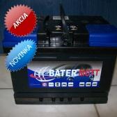 Autobatéria BaterMott 12 V; 55 Ah; 560 A