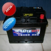Autobatéria BaterMott 12 V; 62 Ah; 580 A