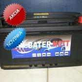 Autobatéria BaterMott 12 V; 100 Ah; 780 A