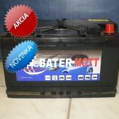 Autobatéria BaterMott 12 V; 80 Ah; 750A