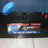 Autobatéria BaterMott 12 V; 225 Ah; 1200 A
