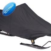 Snežný skúter XXL -čierny vysokokvalitný polyester