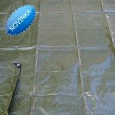 Zelená krycia plachta profi- 120g/m2 -12x15 metre