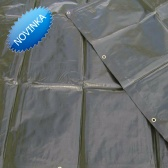 Zelená krycia plachta 3-j vrstvová 200g/m2-  3 x 5 metrov