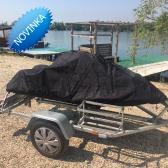 Čierna vysokokvalitná plachta na vodný skúter- XXL