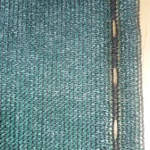 Zelená tieniaca sieť - 1,8 x 15 metrov - 91% tienivosť