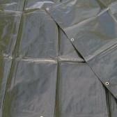 Zelená krycia plachta 200g/m2-  5 x 6 metrov