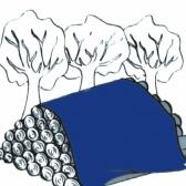 Špeciálna plachta na zakrytie dreva - ZELENÁ
