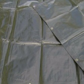 Zelená krycia plachta 200g/m2-  3 x 4 metre