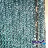 Zelená tieniaca sieť - 1,5 x 10 metrov - 91% tienivosť