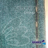 Zelená tieniaca sieť - 1,6 x 20 metrov - 91% tienivosť
