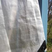 Biela krycia plachta 150g/m2-  2 x 3 metre