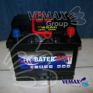 Autobatéria BaterMott 12 V; 44 Ah; 360 A