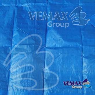 Modrá krycia plachta hobby 80g/m2 - 5x6 metre