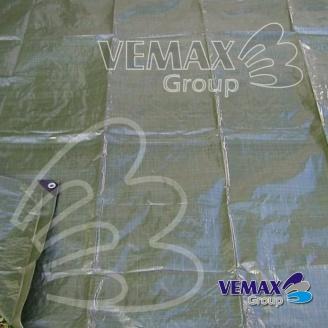 Zelená krycia plachta profi- 120g/m2 -3x5 metrov