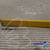 Tieniaca sieť - 1,5x 10 metrov- POŠKODENÝ ÚPLET 5 CM - 91% tienivosť-piesková: ( nepomenovaná fotografia )