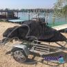 Strieborná plachta na vodný skúter - L: ( nepomenovaná fotografia )