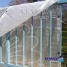 Biela krycia plachta 150g/m2- 4 x 8 metrov: ( nepomenovaná fotografia )