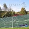 Zelená tieniaca sieť - 1,6 x 15 metrov - 91% tienivosť: ( nepomenovaná fotografia )